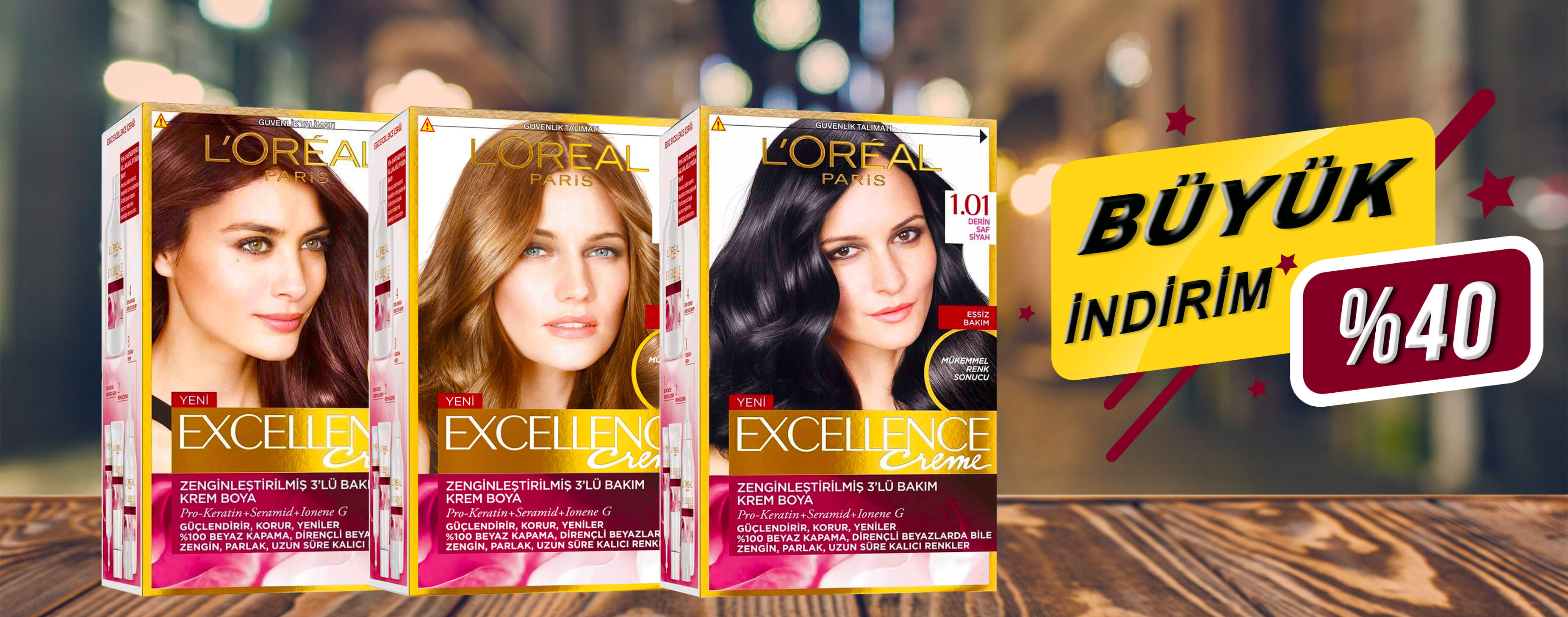 LOREAL PARİS EXCELLENCE