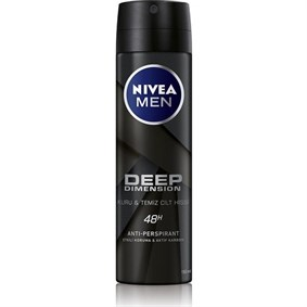 NİVEA MEN DEEP DİMENSİON SPREY DEODORANT ERKEK 150 ML