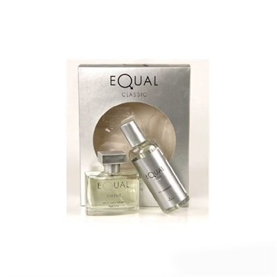 EQUAL CLASSİC FOR MEN EDT 75 ML + BODY MİST 150 ML ERKEK PARFÜM SET