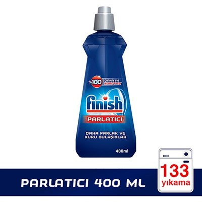 FİNİSH BULAŞIK MAKİNESİ DETERJANI  PARLATICI 400ML