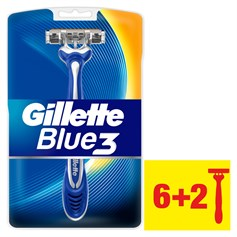 GİLLETTE BLUE3 KULLAN AT TIRAŞ BIÇAĞI 8Lİ