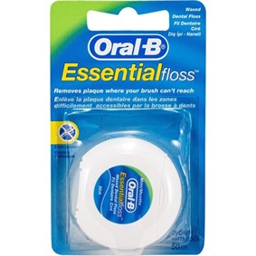 ORAL-B DİŞ İPİ ESSENTİAL FLOSS 50M