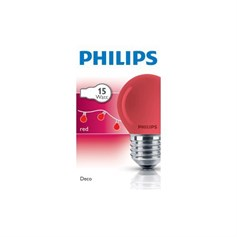 PHİLİPS PARTY 15W E27 220-240V P45 BL 1CT/10X10F