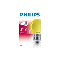 PHİLİPS PARTY 15W E27 220-240V P45 YE 1CT/10X10F