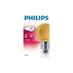 PHİLİPS PARTY 15W E27 220-240V P45 OR 1CT/10X10F