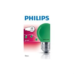 PHİLİPS PARTY 15W E27 220-240V P45 GR 1CT/10X10F