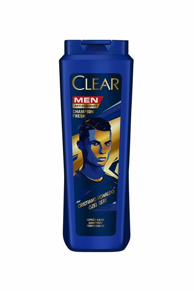 CLEAR MEN CHAMPİON FRESH(RONALDO) 550 ML