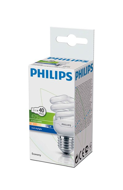 PHILIPS TWSTR ECO 8W (40watt) BEYAZ